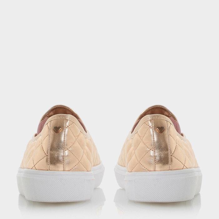 Baskets de skate matelassées à enfiler - elsaa q or_rose synthétique Head Over Heels By Dune