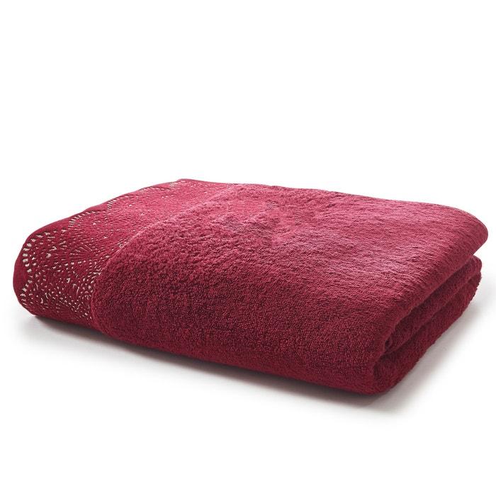 drap de bain ponge 500g m dentelle la redoute interieurs la redoute. Black Bedroom Furniture Sets. Home Design Ideas