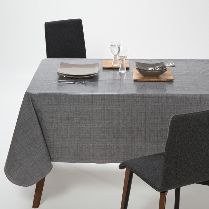Woven Effect PVC Tablecloth  La Redoute Interieurs image 0
