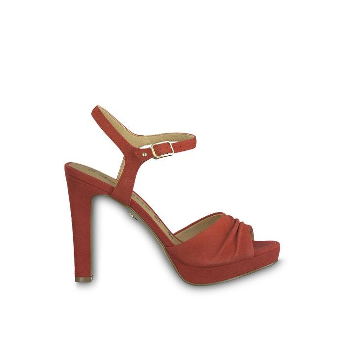 Sandaletten aus Leder, Tamaris