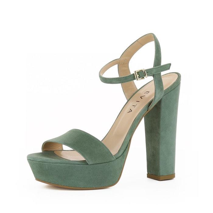 Sandales femme vert olive Evita Acheter Plus Récent Extrêmement Sortie So1iDrdC28