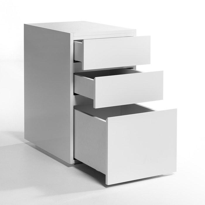 working 3 drawer unit white am pm la redoute. Black Bedroom Furniture Sets. Home Design Ideas