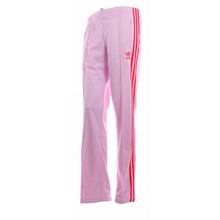 Pantalon adidas firebird rose   rouge rose Adidas   La Redoute 1d5f35bbf095