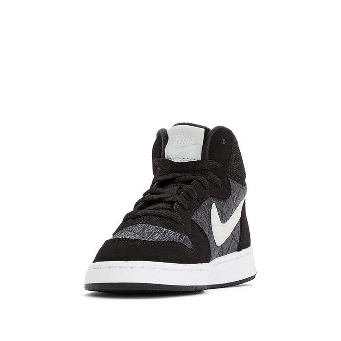 b8b028e680 Court borough mid se (gs) kids high top trainers , black, Nike | La ...