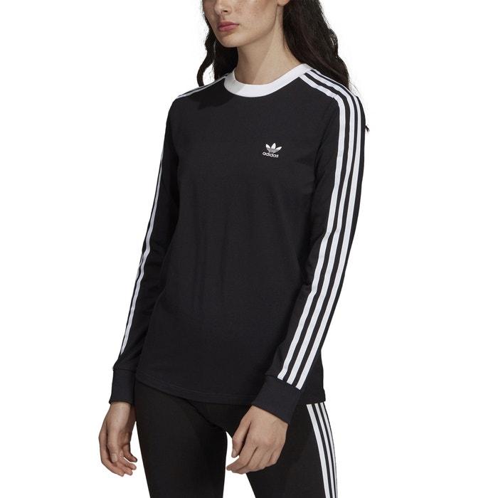 adidas Originals 3 STRIPES T shirt à manches longues