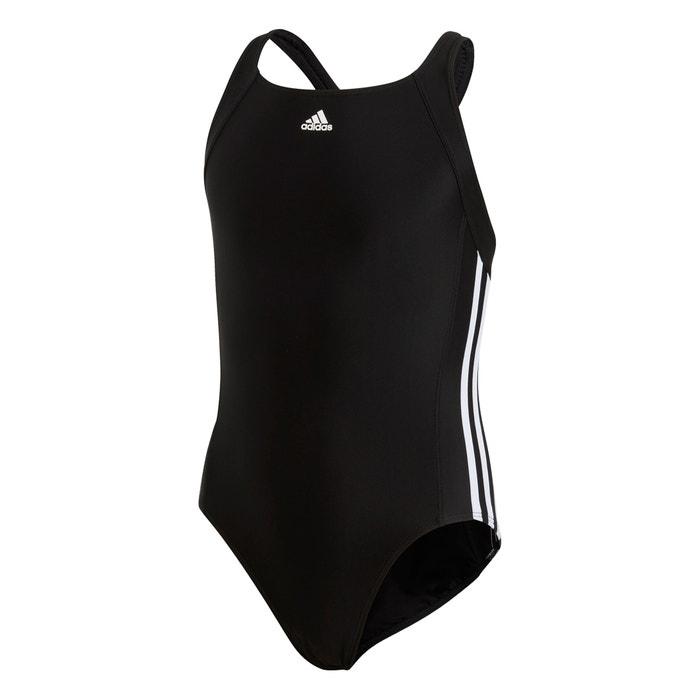 907753006b1e Costume intero 18 mesi - 15 anni nero/bianco Adidas Originals | La Redoute