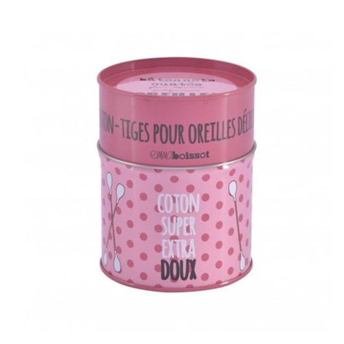 Boite coton tiges rose extra doux rose derriere la porte for La redoute boite a couture