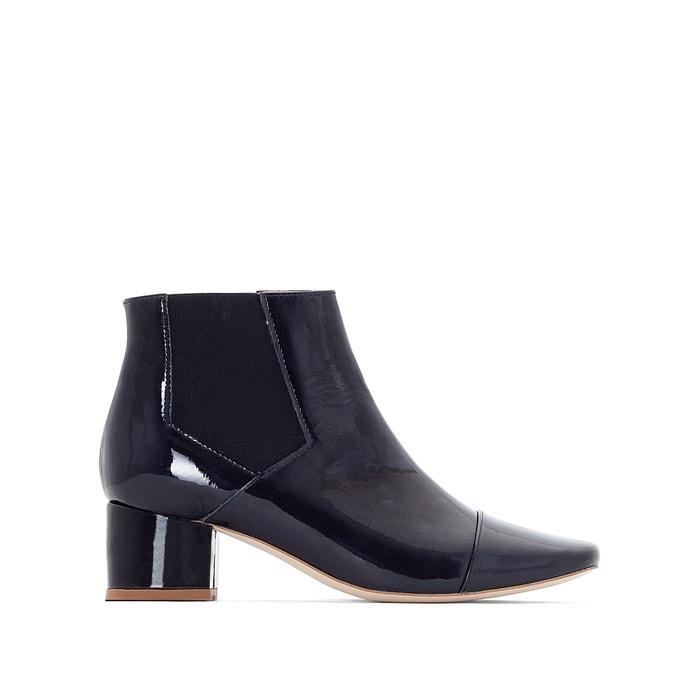 Image Boots cuir verni Ame JONAK