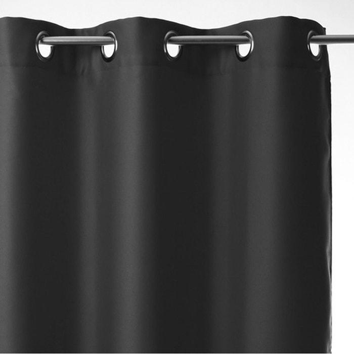 rideau occultant 140 x 260 cm gris atmosphera la redoute. Black Bedroom Furniture Sets. Home Design Ideas