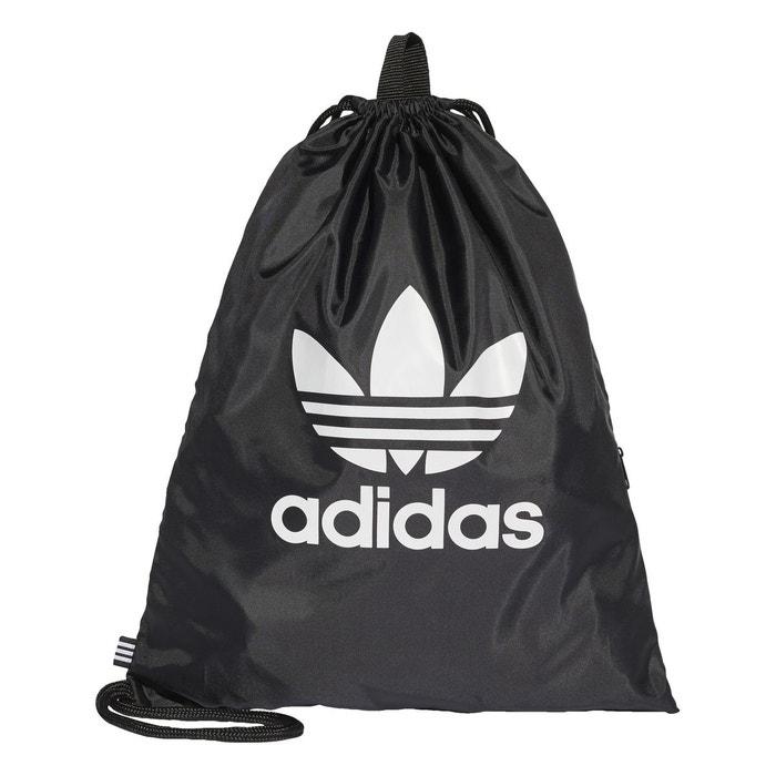 sac de sport trefoil noir adidas originals la redoute. Black Bedroom Furniture Sets. Home Design Ideas