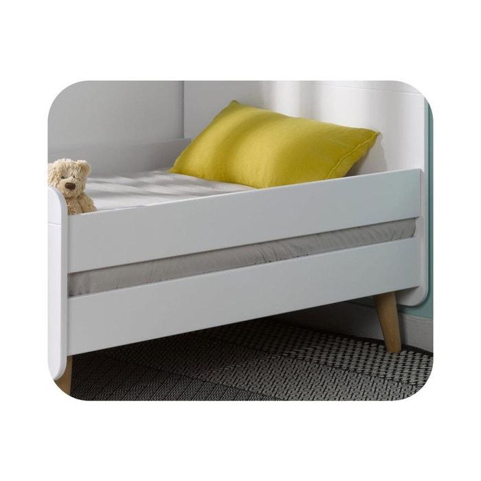 barri re de lit pour lit enfant evolutif willow 90x140 cm. Black Bedroom Furniture Sets. Home Design Ideas