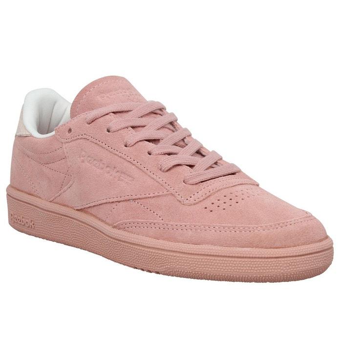 basket femme reebok rose