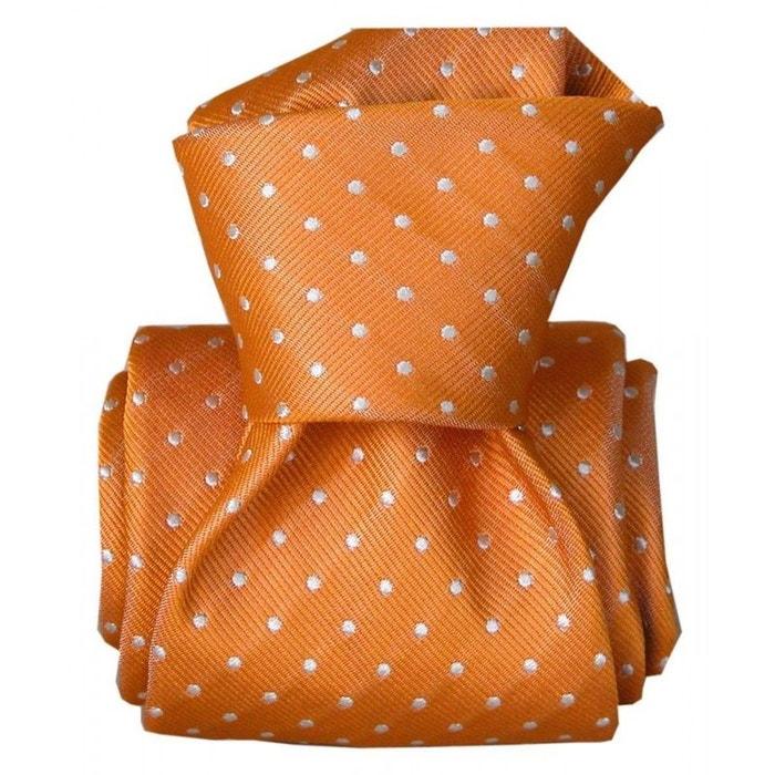 Cravate segni disegni luxe, faite main, artemis orange orange Segni Et Disegni | La Redoute