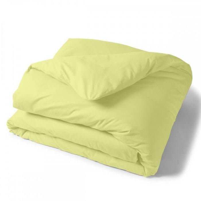 soldes tradition des vosges housse couette unie coton tradition des vosges la redoute. Black Bedroom Furniture Sets. Home Design Ideas