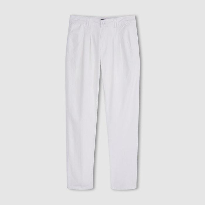 Imagen de Pantalón chino con pinzas de algodón stretch R essentiel