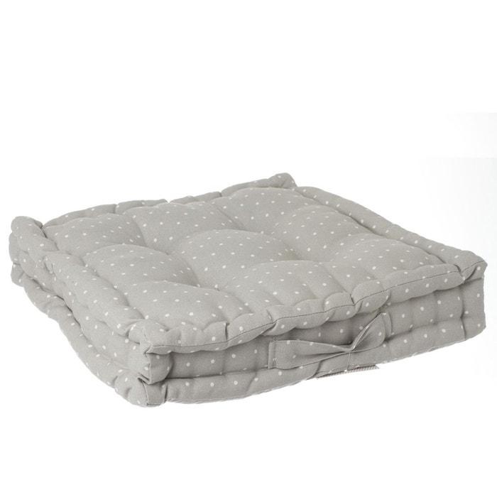 coussin de sol 40 x 40 cm atmosphera la redoute. Black Bedroom Furniture Sets. Home Design Ideas