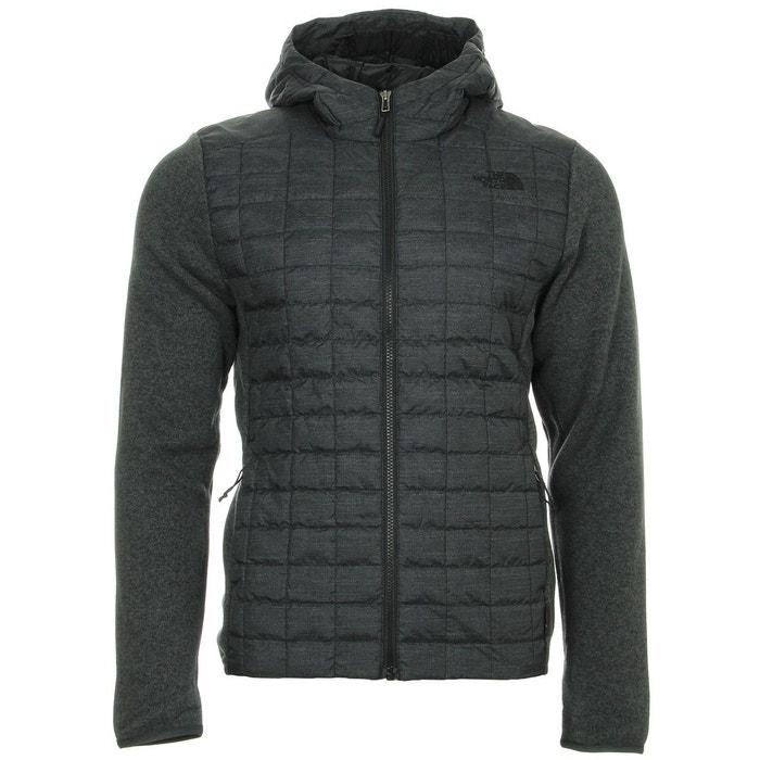 Thermoball gordon lyons - veste homme - gris noir noir The North Face   La  Redoute f552538360a3