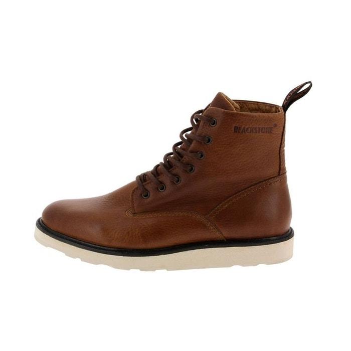 bb44d8ce46 Bottines / boots cuir marron Blackstone | La Redoute