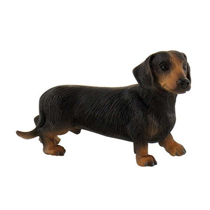 Figurine chien teckel poils courts apollo couleur - Code promo la redoute livraison gratuite sans minimum d achat ...