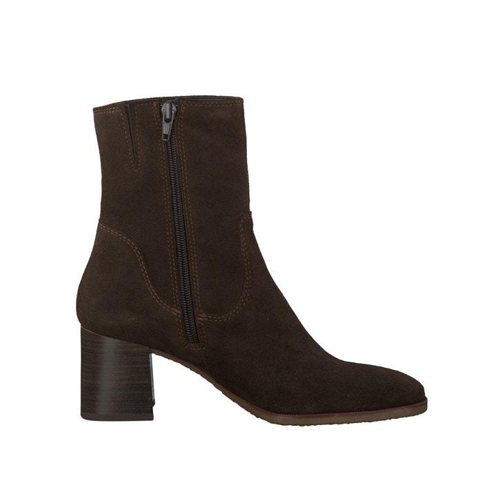 Image Boots cuir montantes 25478-37 TAMARIS