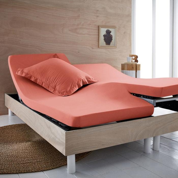 drap housse pur coton bio pour lit articul scenario la redoute. Black Bedroom Furniture Sets. Home Design Ideas