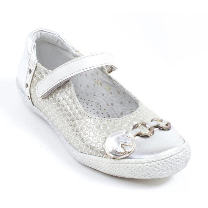 7eaaefbd416 Babybotte Ballerines enfant Ballerines Fille argent KAYLINE Babybotte  soldes Chaussures Abeba argentées homme Adidas Zx Flux