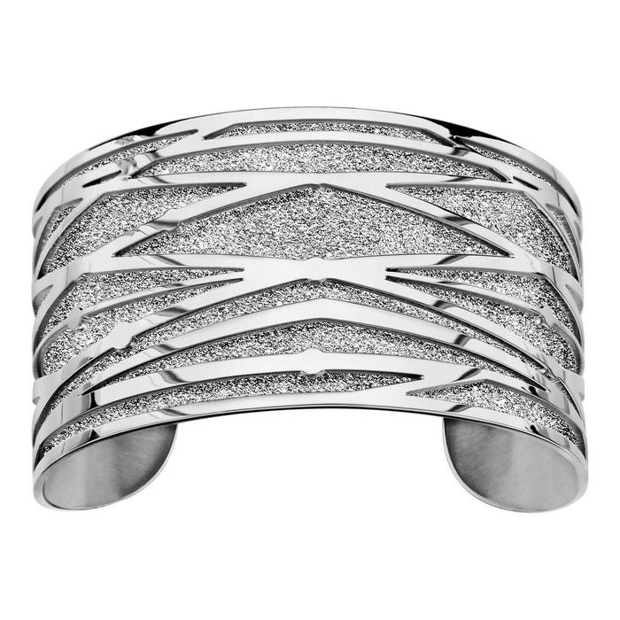 Wiki Vente En Ligne Bracelet manchette brindille aspect granit gris acier inoxydable couleur unique So Chic Bijoux | La Redoute Mode En Ligne 4EKOw
