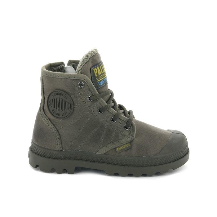 7429256715d9e Boots pampa hi t wp Palladium vert kaki