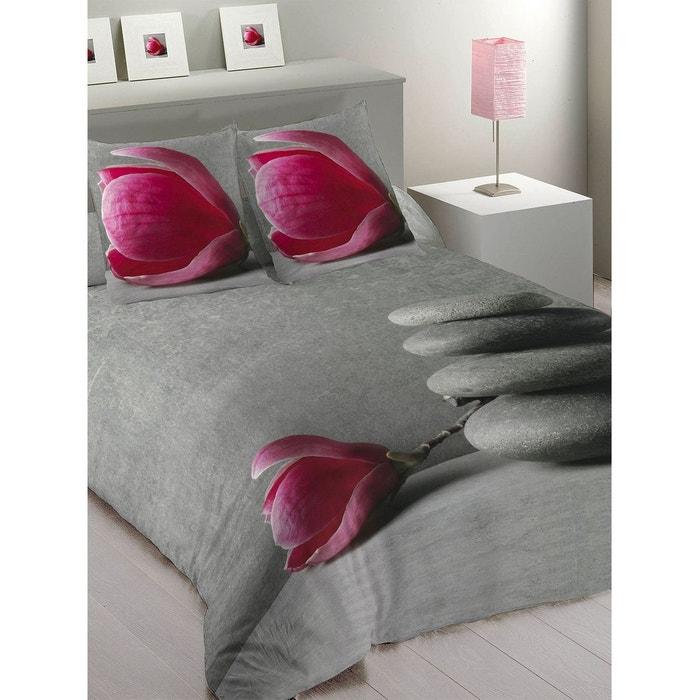 parure de lit zenitude multicolore les ateliers du linge la redoute. Black Bedroom Furniture Sets. Home Design Ideas