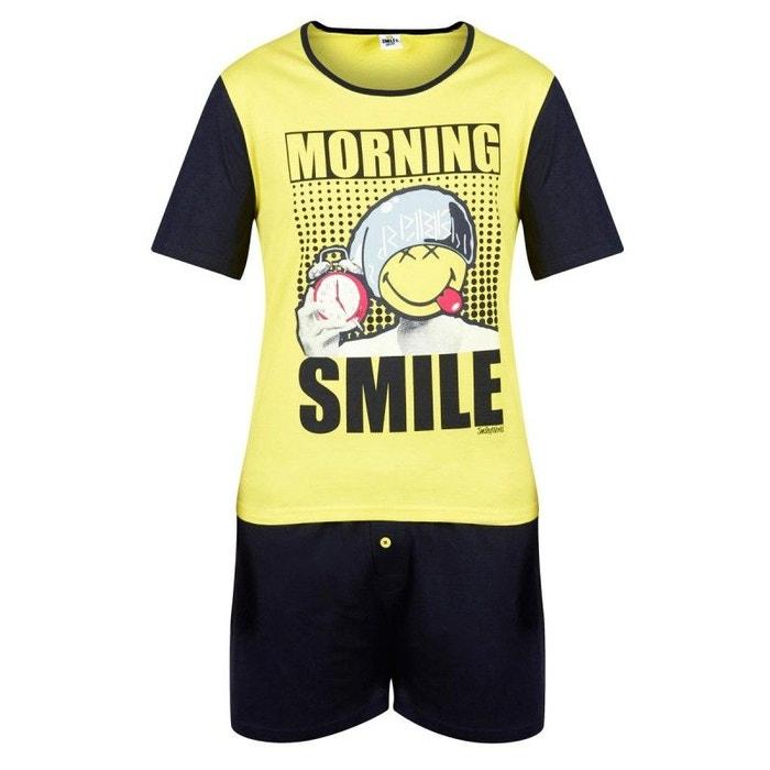 Homme Pommpoire Pyjama Court Super Papa