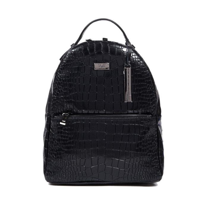 sac dos cuir femme versace la redoute. Black Bedroom Furniture Sets. Home Design Ideas