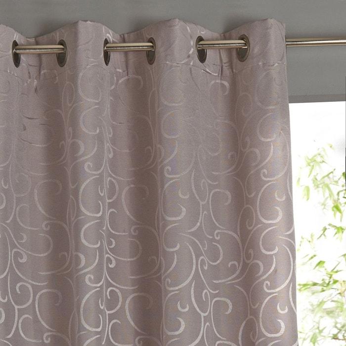 rideau occultant oeillets beriza la redoute interieurs en. Black Bedroom Furniture Sets. Home Design Ideas