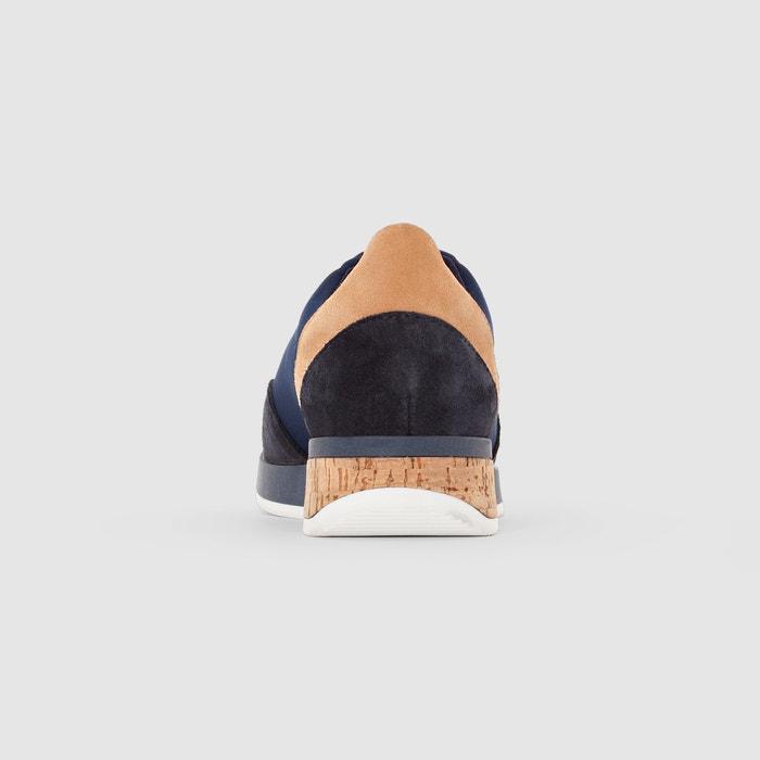 piel de corcho Redoute La con detalle de Collections Zapatillas wIZZP0q