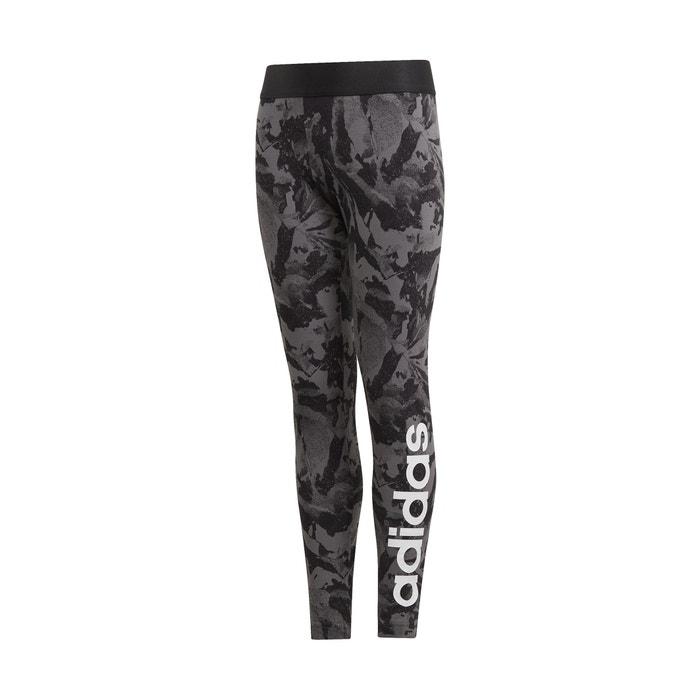 Negro Leggings Adidas 5 Estampado 15 De Años Deporte wqvYqTxB