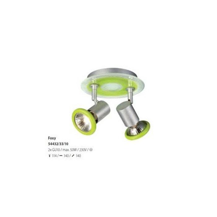 luminaire philips massive spot foxy vert ma 544323310 autre philips la redoute. Black Bedroom Furniture Sets. Home Design Ideas