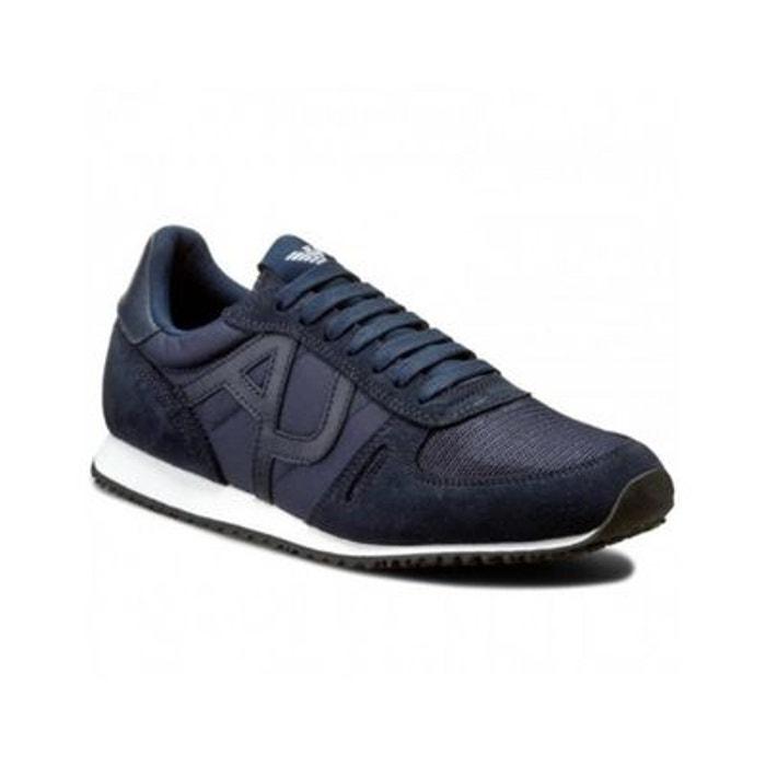 69ccf591822f Basket armani jeans bleu Armani Jeans