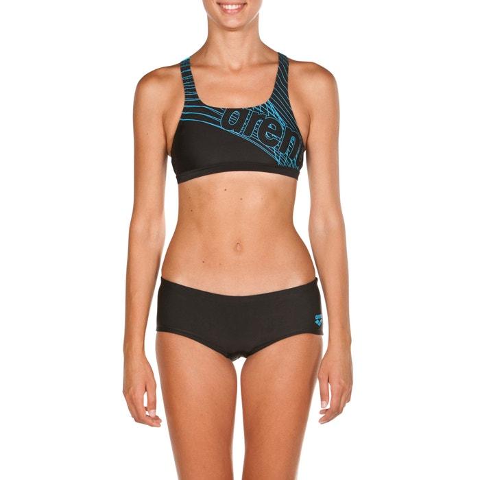 bce0b4499b Costume da bagno 2 pezzi per piscina altair swim nero/blu Arena | La Redoute