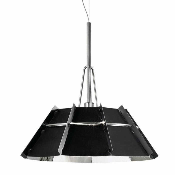 suspension design chapeau noir brillant slamp la redoute. Black Bedroom Furniture Sets. Home Design Ideas