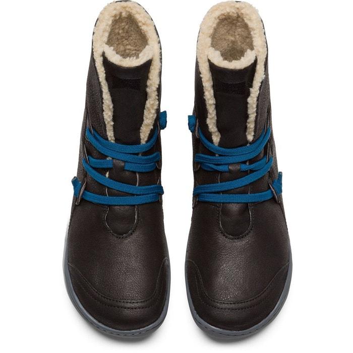 Peu 46477-036 bottines femme noir Camper
