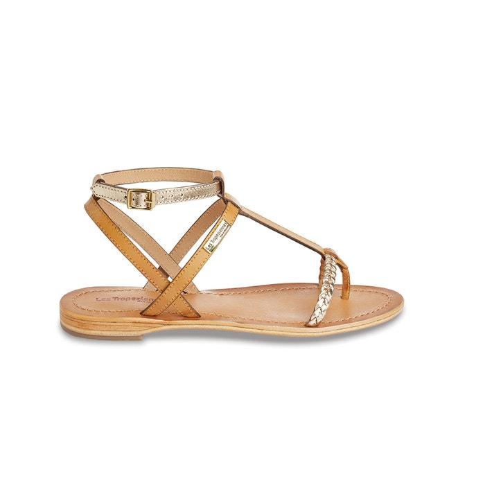 Image Hilatres Flat Leather Sandals LES TROPEZIENNES PAR M.BELARBI