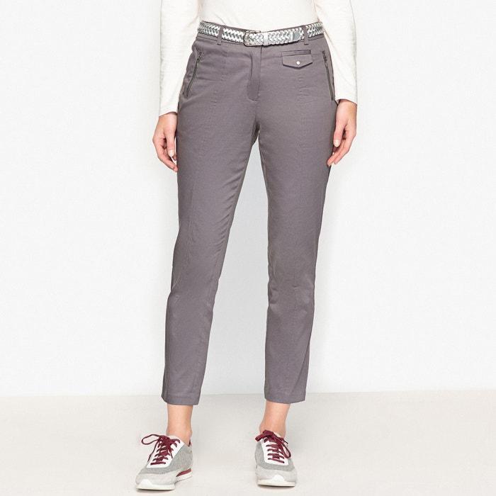 afbeelding Verkorte broek, stretch satijnkatoen ANNE WEYBURN