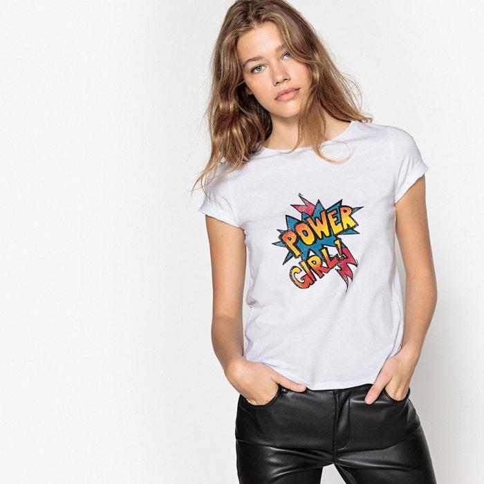 Image T-shirt fantasia rock La Redoute Collections