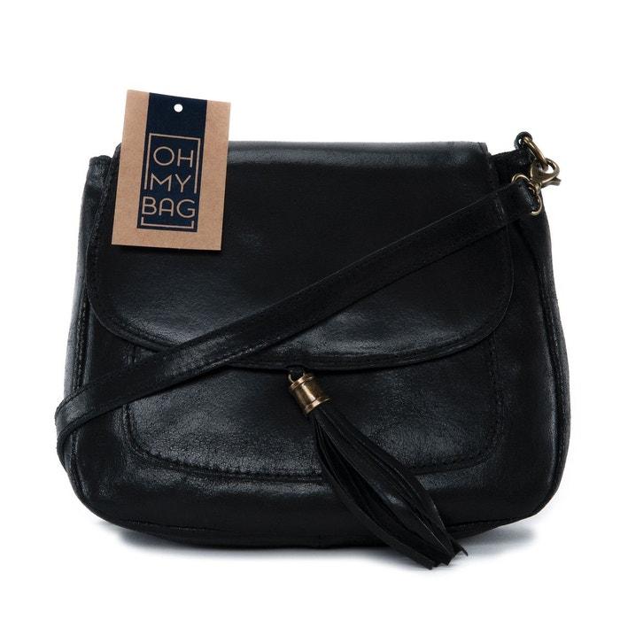 Sac à main en cuir sia Oh My Bag   La Redoute 56c1e0d7afdb