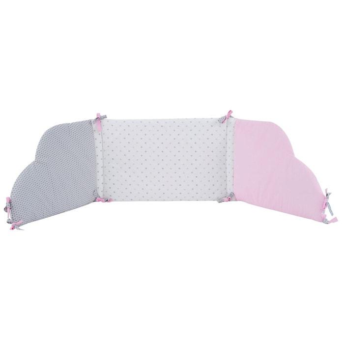 tour de lit p 39 tit basile collection 39 claudine 39 pour lits 60x120 cm ou 70x140 cm couleur unique p. Black Bedroom Furniture Sets. Home Design Ideas