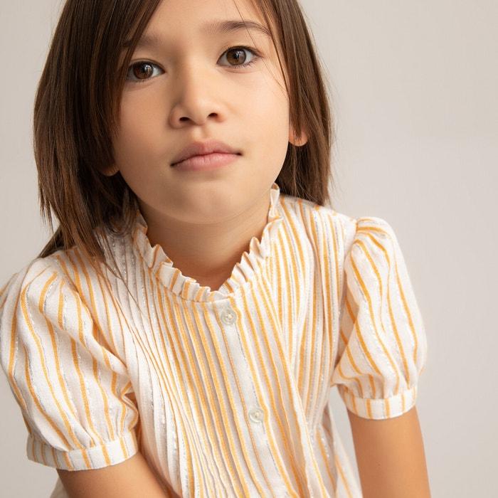 da bambina Camicia a maniche lunghe con collo volante