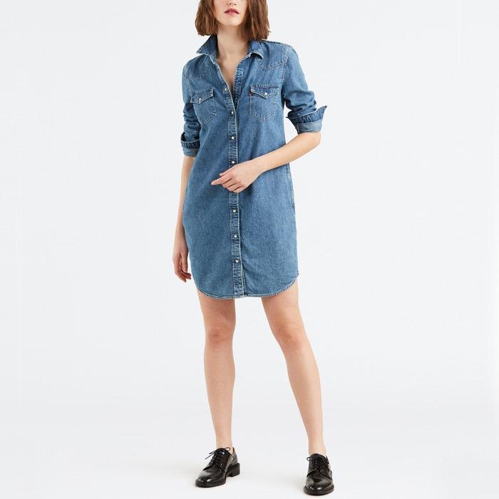e9858fee242 Ultimate Western Denim Shirt Dress LEVI S image 0