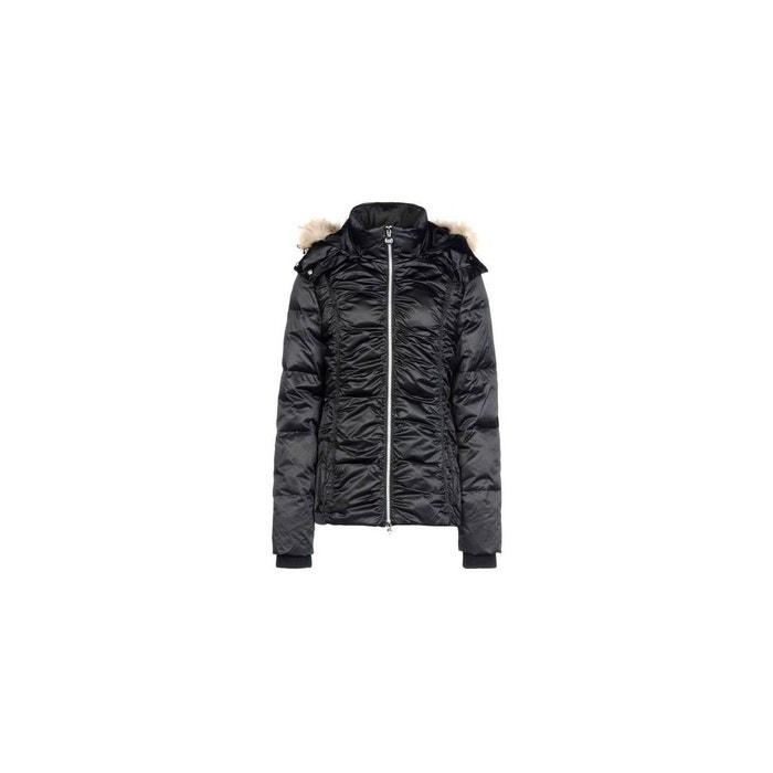 7d901a1ec45b Blouson de ski polyester noir Emporio Armani Ea7   La Redoute