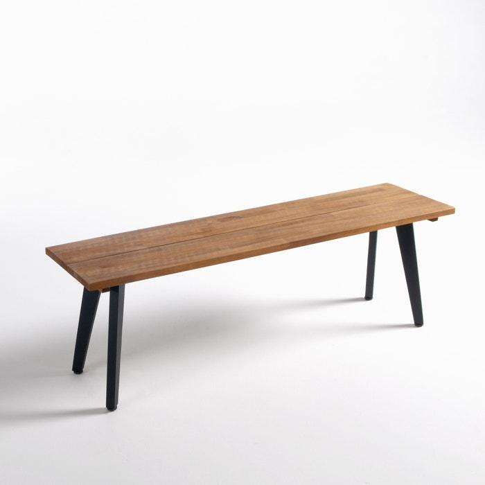 hiba fsc acacia garden bench la redoute interieurs la redoute. Black Bedroom Furniture Sets. Home Design Ideas