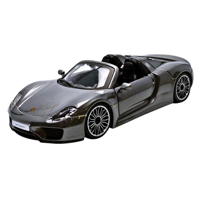 mod le r duit de voiture de sport porsche 918 spyder echelle 1 24 couleur unique bburago. Black Bedroom Furniture Sets. Home Design Ideas