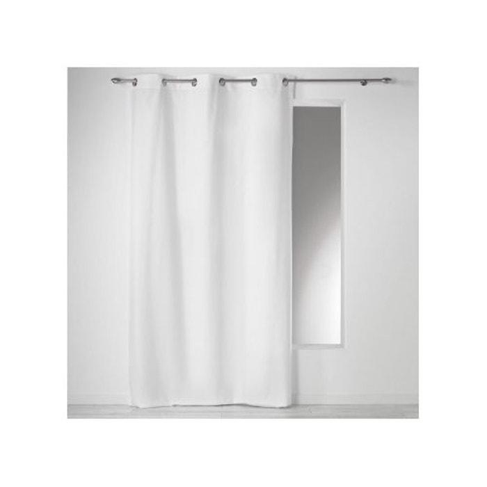 rideau oeillets 140x240 100 coton panama uni douceur d interieur la redoute. Black Bedroom Furniture Sets. Home Design Ideas
